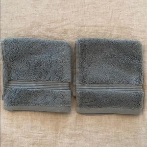 Set of 2 Hudson Park Washcloths